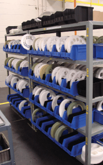 Workholders for all different types of parts. including bearings that need to be finished
