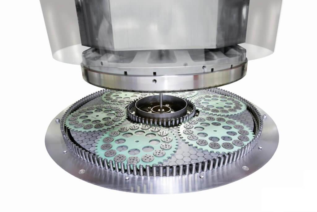 Fixed Abrasive Wheel on DLM 705 Machine